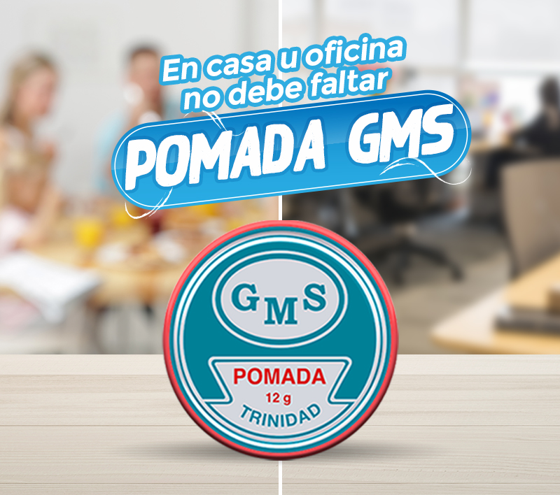 Campaña comunicacional de pomada GMS